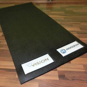 Bodenschutzmatte für Heimsportgeräte zu Hause